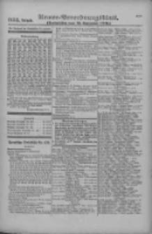 Armee-Verordnungsblatt. Verlustlisten 1916.09.13 Ausgabe 1153