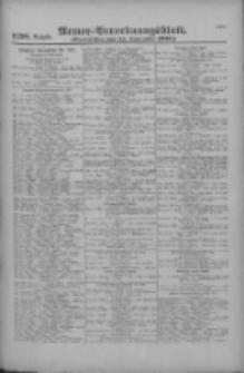Armee-Verordnungsblatt. Verlustlisten 1916.09.15 Ausgabe 1158