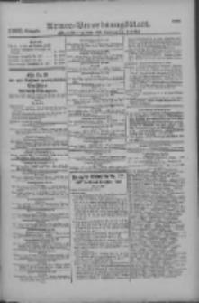 Armee-Verordnungsblatt. Verlustlisten 1916.09.19 Ausgabe 1163