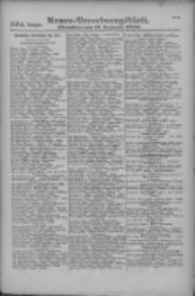 Armee-Verordnungsblatt. Verlustlisten 1916.09.19 Ausgabe 1164