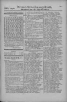 Armee-Verordnungsblatt. Verlustlisten 1916.09.20 Ausgabe 1165