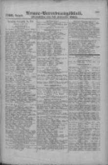 Armee-Verordnungsblatt. Verlustlisten 1916.09.20 Ausgabe 1166