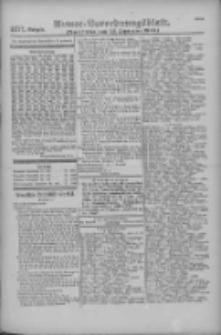 Armee-Verordnungsblatt. Verlustlisten 1916.09.23 Ausgabe 1171