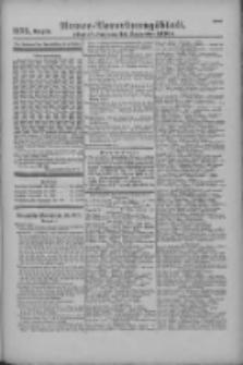 Armee-Verordnungsblatt. Verlustlisten 1916.09.26 Ausgabe 1175