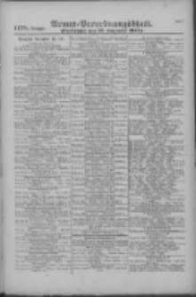 Armee-Verordnungsblatt. Verlustlisten 1916.09.27 Ausgabe 1178