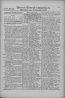 Armee-Verordnungsblatt. Verlustlisten 1916.09.28 Ausgabe 1179
