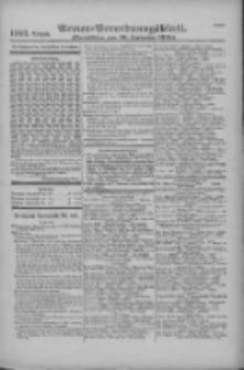 Armee-Verordnungsblatt. Verlustlisten 1916.09.30 Ausgabe 1183