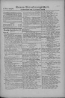 Armee-Verordnungsblatt. Verlustlisten 1916.10.02 Ausgabe 1185
