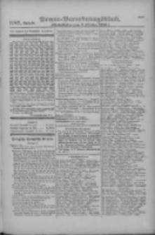 Armee-Verordnungsblatt. Verlustlisten 1916.10.03 Ausgabe 1187