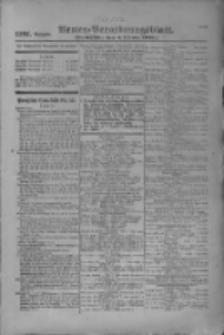 Armee-Verordnungsblatt. Verlustlisten 1916.10.05 Ausgabe 1191