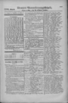 Armee-Verordnungsblatt. Verlustlisten 1916.10.11 Ausgabe 1201