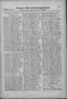 Armee-Verordnungsblatt. Verlustlisten 1916.10.11 Ausgabe 1202