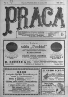 Praca: tygodnik polityczny i literacki, illustrowany. 1918.03.31 R.22 nr13