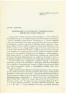 Przewodnik po katalogach i informatorach Biblioteki Kórnickiej PAN. Pamiętnik Biblioteki Kórnickiej Z. 11.