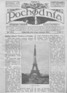 Pochodnia. Narodowy Tygodnik Illustrowany. 1914.06.11 R.2 nr24