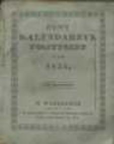 Nowy Kalendarzyk Polityczny na Rok 1834