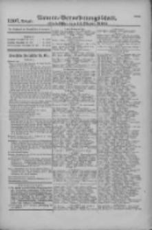 Armee-Verordnungsblatt. Verlustlisten 1916.10.14 Ausgabe 1207