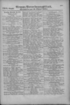 Armee-Verordnungsblatt. Verlustlisten 1916.10.19 Ausgabe 1216