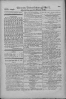 Armee-Verordnungsblatt. Verlustlisten 1916.10.21 Ausgabe 1219