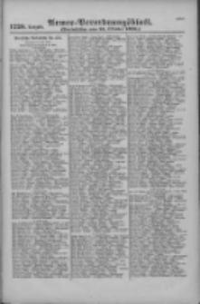 Armee-Verordnungsblatt. Verlustlisten 1916.10.21 Ausgabe 1220