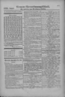Armee-Verordnungsblatt. Verlustlisten 1916.10.23 Ausgabe 1221
