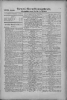 Armee-Verordnungsblatt. Verlustlisten 1916.10.25 Ausgabe 1225