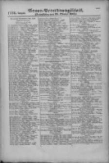Armee-Verordnungsblatt. Verlustlisten 1916.10.25 Ausgabe 1226