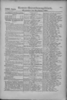 Armee-Verordnungsblatt. Verlustlisten 1916.10.28 Ausgabe 1233