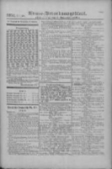 Armee-Verordnungsblatt. Verlustlisten 1916.11.09 Ausgabe 1252