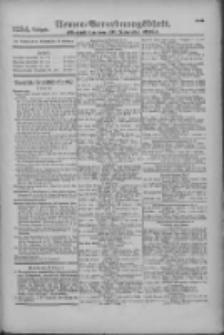 Armee-Verordnungsblatt. Verlustlisten 1916.11.10 Ausgabe 1254