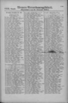 Armee-Verordnungsblatt. Verlustlisten 1916.11.11 Ausgabe 1257