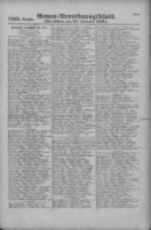 Armee-Verordnungsblatt. Verlustlisten 1916.11.18 Ausgabe 1269