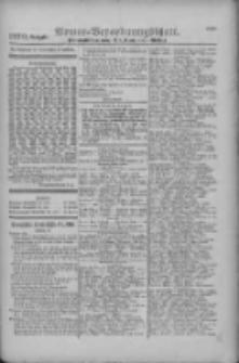 Armee-Verordnungsblatt. Verlustlisten 1916.11.20 Ausgabe 1270