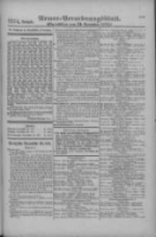Armee-Verordnungsblatt. Verlustlisten 1916.11.23 Ausgabe 1274