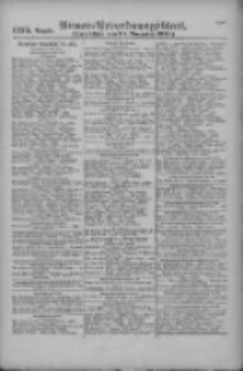 Armee-Verordnungsblatt. Verlustlisten 1916.11.23 Ausgabe 1275