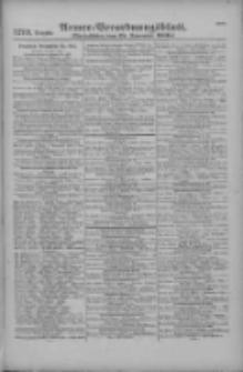 Armee-Verordnungsblatt. Verlustlisten 1916.11.25 Ausgabe 1279