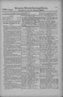 Armee-Verordnungsblatt. Verlustlisten 1916.11.27 Ausgabe 1280