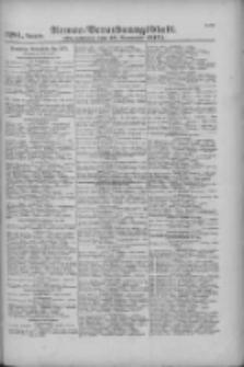 Armee-Verordnungsblatt. Verlustlisten 1916.11.27 Ausgabe 1281