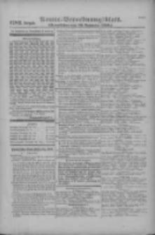 Armee-Verordnungsblatt. Verlustlisten 1916.11.28 Ausgabe 1282