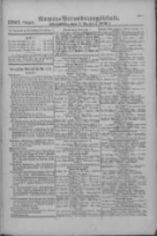 Armee-Verordnungsblatt. Verlustlisten 1916.12.01 Ausgabe 1289