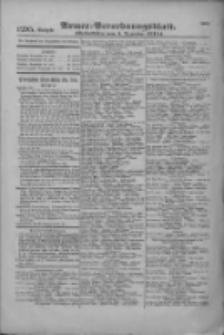 Armee-Verordnungsblatt. Verlustlisten 1916.12.05 Ausgabe 1295