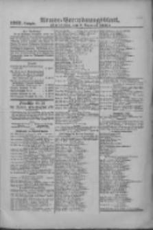Armee-Verordnungsblatt. Verlustlisten 1916.12.06 Ausgabe 1297