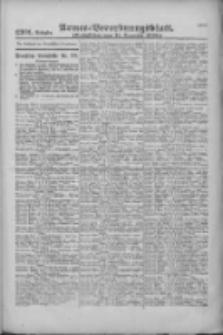Armee-Verordnungsblatt. Verlustlisten 1916.12.11 Ausgabe 1301