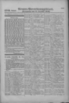 Armee-Verordnungsblatt. Verlustlisten 1916.12.12 Ausgabe 1303