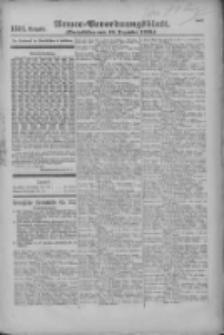 Armee-Verordnungsblatt. Verlustlisten 1916.12.18 Ausgabe 1311
