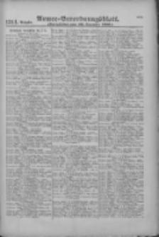 Armee-Verordnungsblatt. Verlustlisten 1916.12.20 Ausgabe 1314