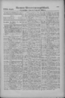 Armee-Verordnungsblatt. Verlustlisten 1916.12.21 Ausgabe 1315