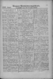 Armee-Verordnungsblatt. Verlustlisten 1916.12.22 Ausgabe 1317