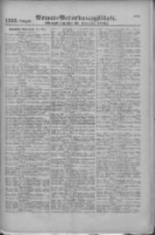 Armee-Verordnungsblatt. Verlustlisten 1916.12.29 Ausgabe 1323