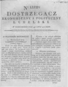 Dostrzegacz Ekonomiczny i Polityczny Lubelski. 1816.07.01 Nr27